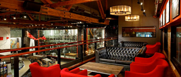 Mezzanine Lounge @ the Amsterdam BrewHouse.