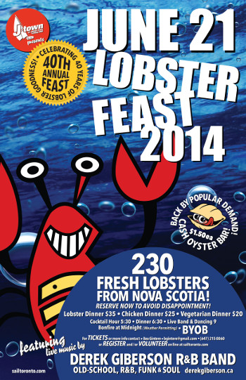 Lobster Feast Poster