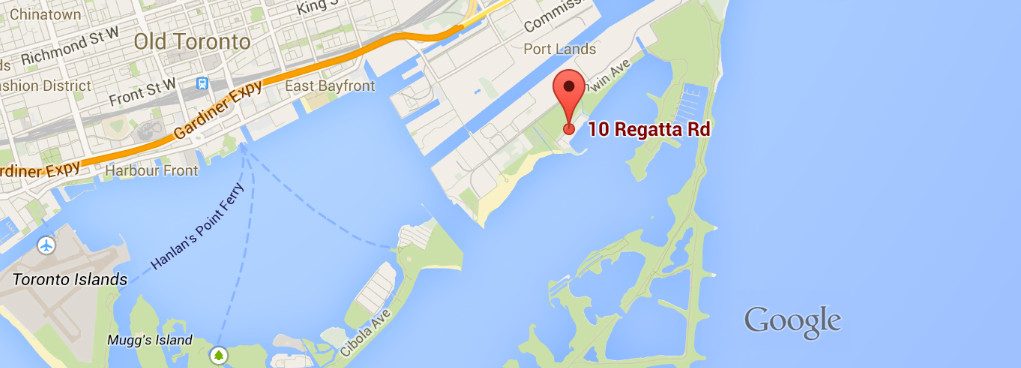J-Town Location Map - 10 Regatta Rd